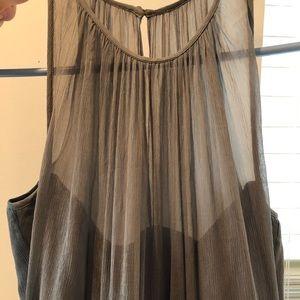 J Crew size 6 floor length dress
